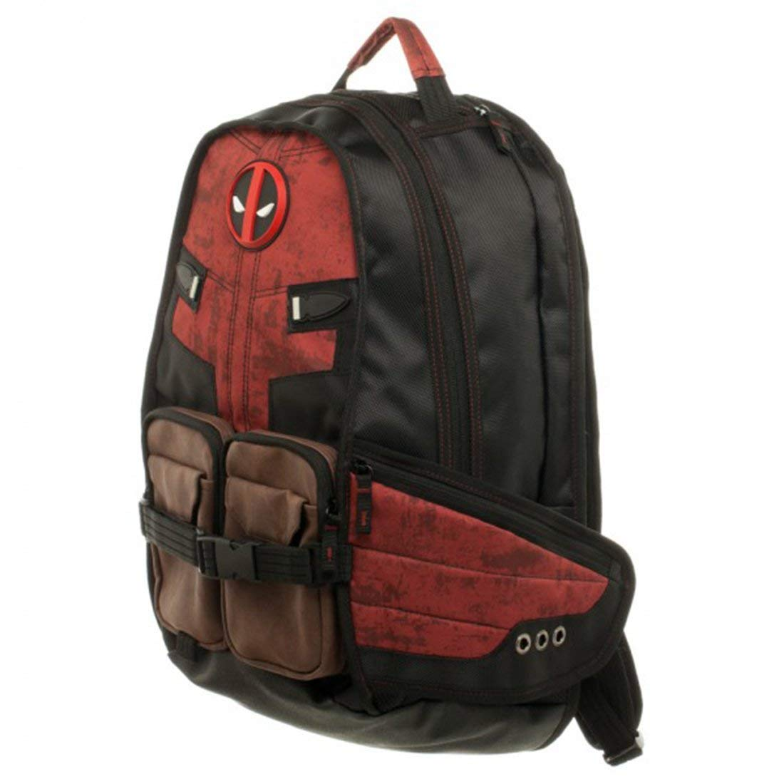 Bioworld Marvel Deadpool Laptop Backpack - Buy Bioworld Marvel Deadpool  Laptop Backpack Online at Low Price in India - Amazon.in 0fe100686e109