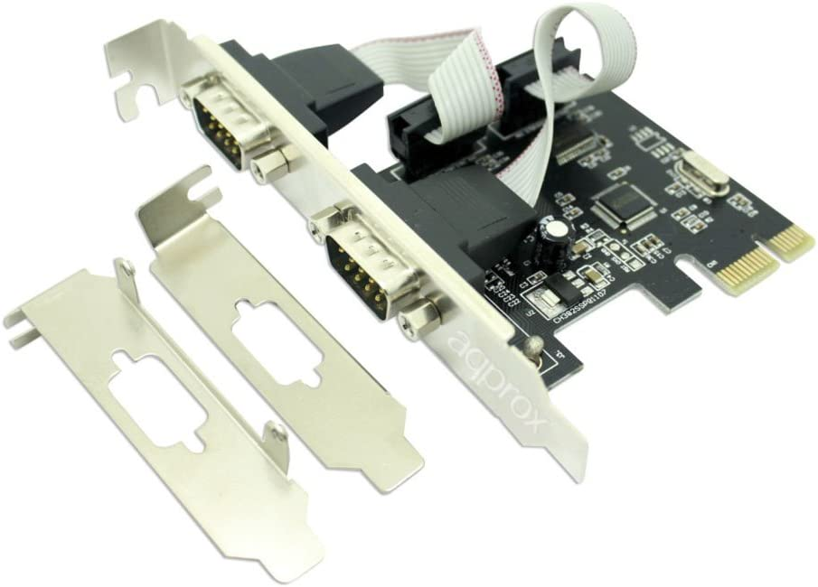 Plug-in Card Approx Serial Adapter PCI 2.1 2 x Number of Parallel Ports External PC