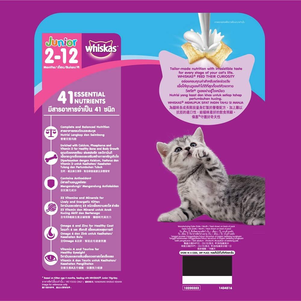 Whiskas Kitten 2 12 Months Dry Cat Food Food Ocean Fish 1 1kg
