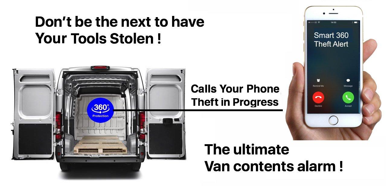 Van Alarm Gsm Wireless Sms Call Theft Alert System Uk Wiring Diagram Pir Sensor Car Motorbike