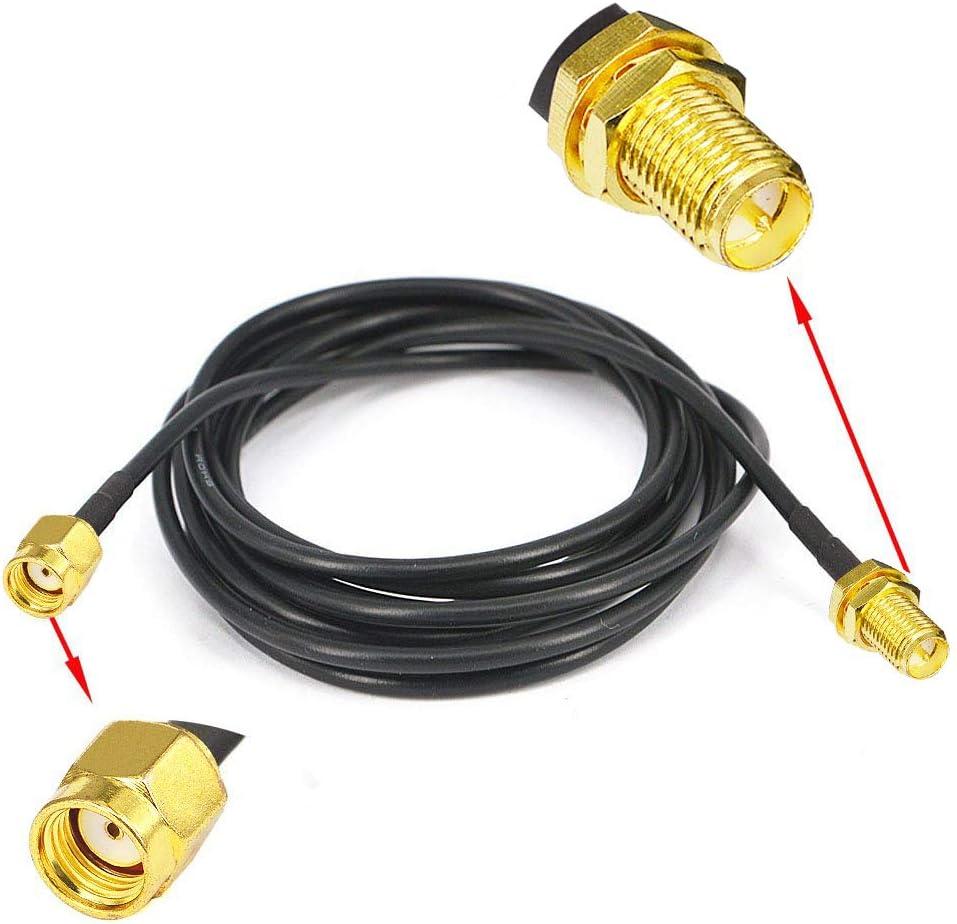 YOTENKO - Cable alargador de 2 m (conector de antena WIFI FPV ...