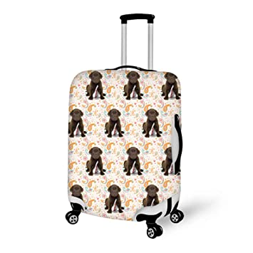 51e63ea64c962 Amazon.com | Travel Luggage Suitcase Protector Luggage Case - Puppy ...