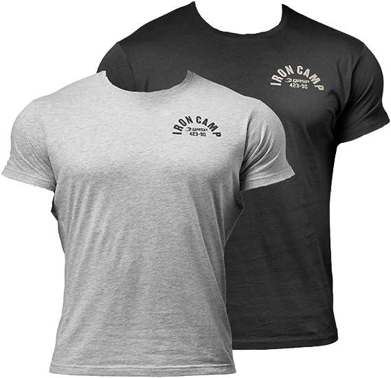IRON Camp Workout T-Shirt GASP Throwback Tee