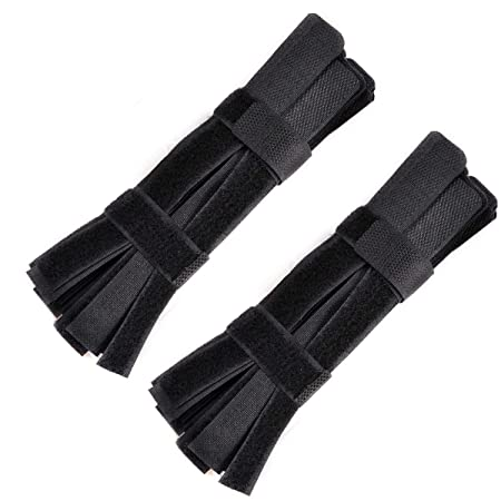 100Pcs Reusable Silverline Pack Hook Loop Cable Cord Ties Tidy Straps Affordable