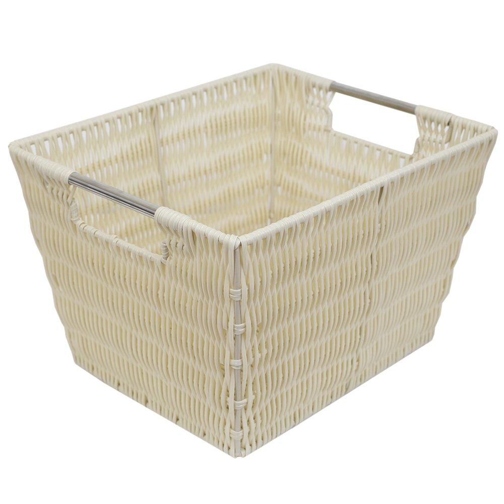 Home Basics Basket Turquoise