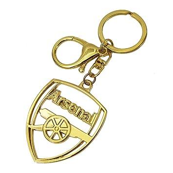 Amazon.com: Llavero de metal con colgante de fútbol del ...