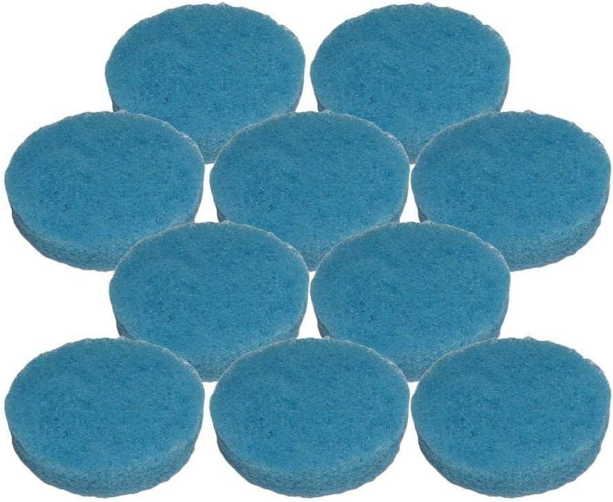 Black and Decker S700E Scum Buster 10 Pack Blue Scrubbing Pad # 90522701-10PK