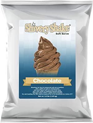 ShiveryShake Chocolate Soft Serve Ice Cream Mix