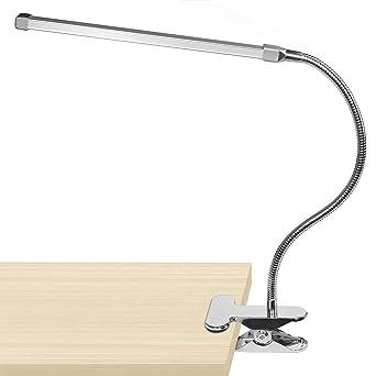Licht & Beleuchtung Schreibtischlampen Led Schreibtisch Lampe Mit Clip 1 W Flexible Led Lesen Lampe Usb Netzteil Led Buch Lampe.