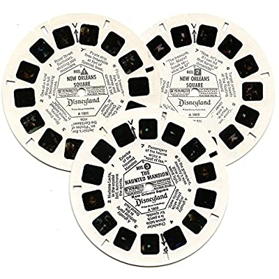 Disneyland New Orleans Square - Edition B - 3 Reels w/ Booklet: Toys & Games