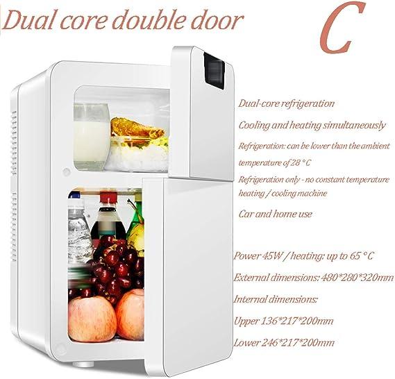 ADEMI compresor Nevera Coche, Portátil Mini 22L Capacidad del ...