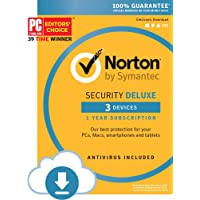 Deals on Norton Security Deluxe - 3 Devices Download Code
