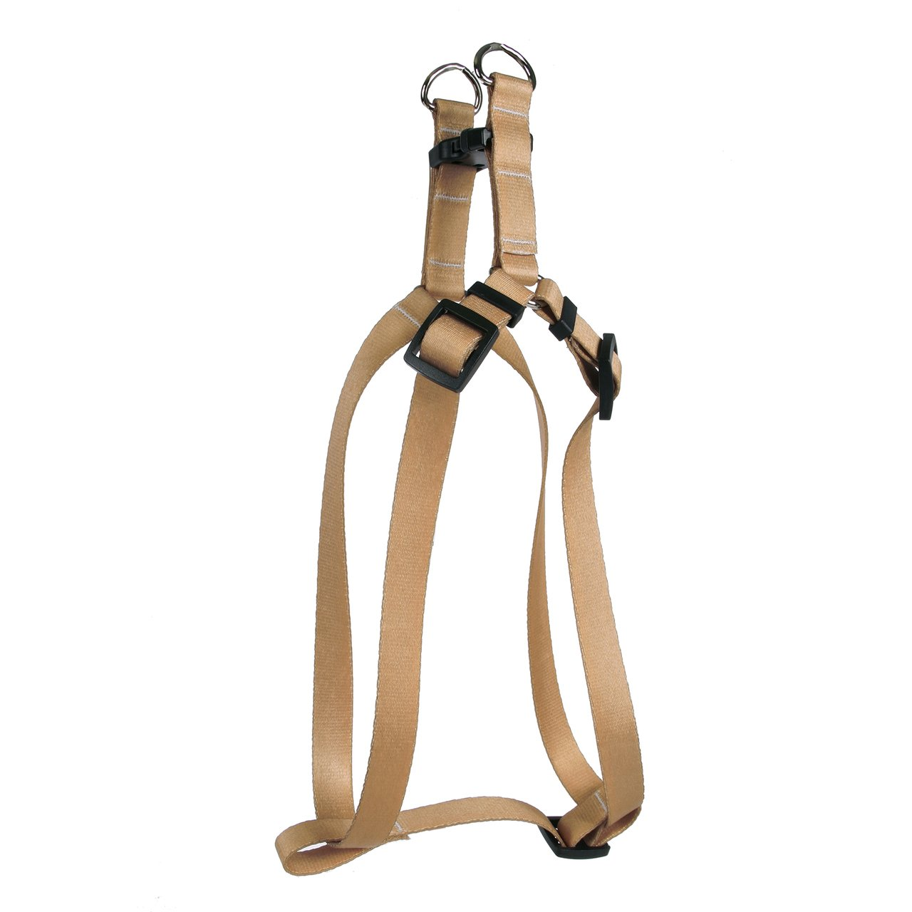 Yellow Dog Design Tan Simple Solid Step-in Dog Harness-Medium-3/4 and fits Chest Circumference of 15 to 25'' by Yellow Dog Design