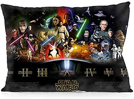Lucas Films 2-Pack Star Wars Collage Pillowcase