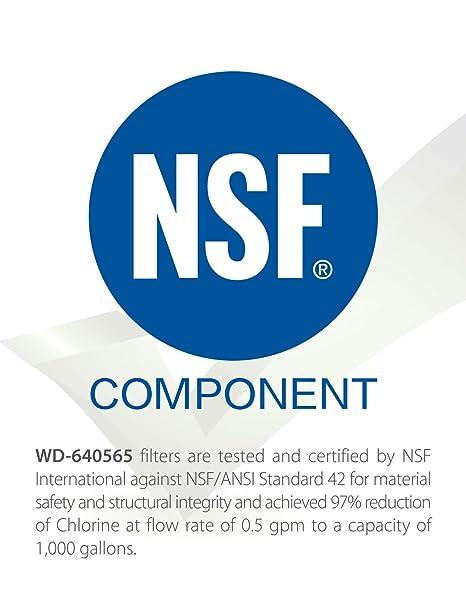 3 x Waterdrop 640565 reemplazo del filtro de agua del refrigerador para Bosch 640565, CS-52, CS-51, 5586605, EVOLFLTR10, AP3961137: Amazon.es: Hogar