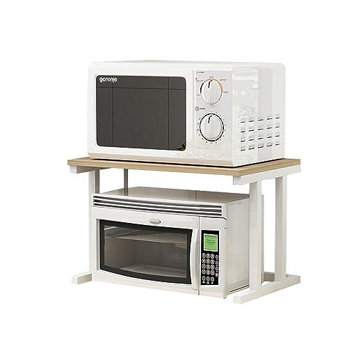 Estantes de horno de microondas multifuncionales Estanterías ...