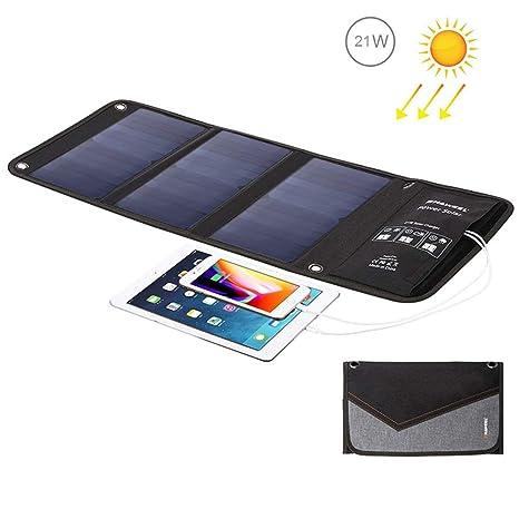 Neoron Cargador De Panel Solar Plegable con Puertos USB ...