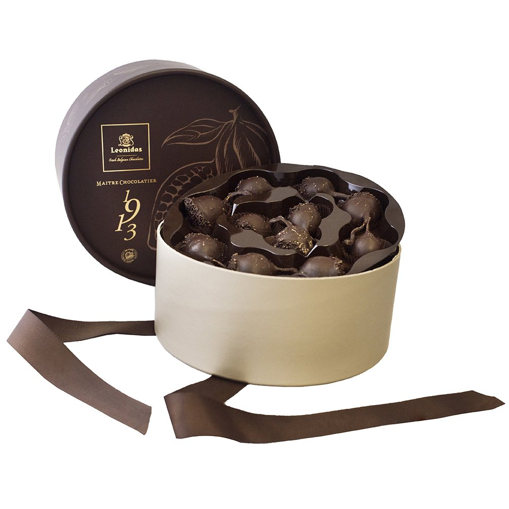 Chocolate Cherries, 22 Leonidas Dark Dipped Cherry Liquors, The ...