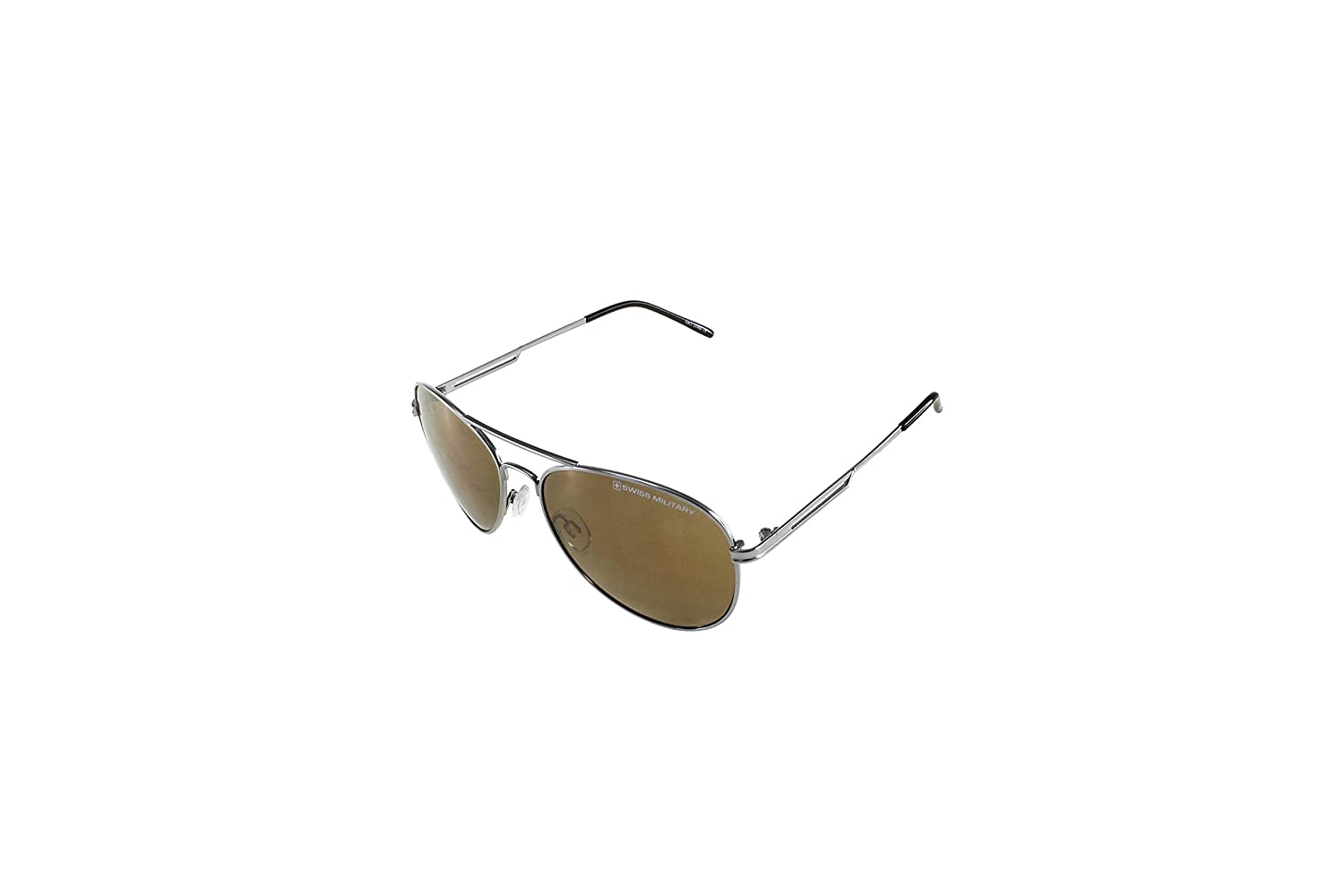 e747c22795 Swiss Military Mirrored Aviator Men s Sunglasses - (SUM56