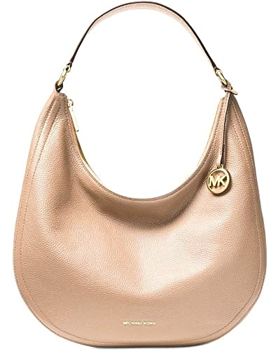 fdbbf178afca2 Image Unavailable. Image not available for. Color  Michael Kors Lydia Large  hobo Oyster
