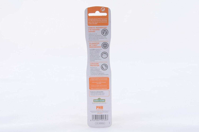 Phb - Cepillo de dientes plus junior: Amazon.es: Salud y cuidado personal
