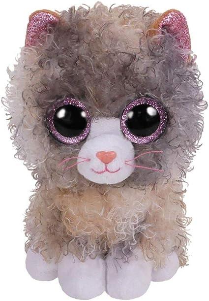 Alaska Stuffed Animals, Amazon Com Ty Scrappy Curly Hair Cat Beanie Boos Toys Games