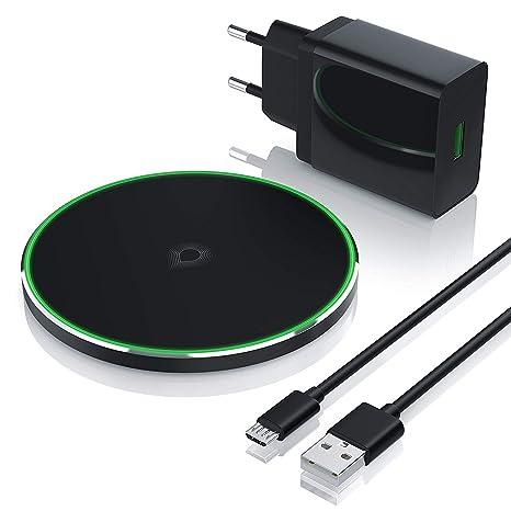 aplic - Cargador inalámbrico rápido 10V y Cargador USB 30V QC 3.0 ...