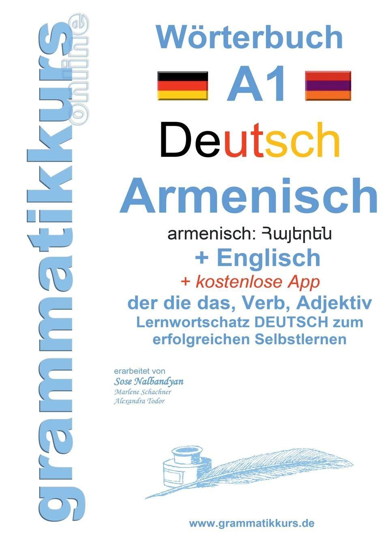 Download Wörterbuch Deutsch - Armenisch Hajeren lesu - Englisch Niveau A1 (German Edition) pdf