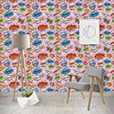 Woman Superhero Wallpaper & Surface Covering (Peel & Stick - Repositionable)