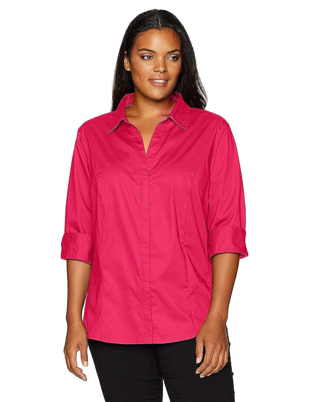 51 arfurt Women's Long Sleeve Button Down Casual Dress Shirt Business Blouse