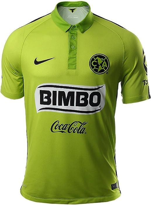 the latest 2800d 80b60 Amazon.com : NIKE Club America Third Stadium Soccer Jersey ...