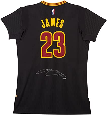 LeBron James Autographed Cleveland Cavaliers Adidas Pride