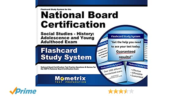 flashcard study system for the national board certification social rh amazon com