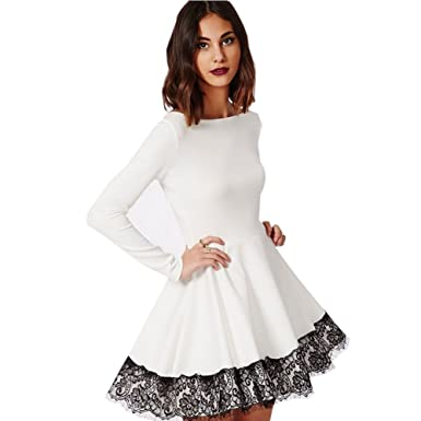 Cute long sleeve cocktail dresses