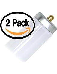 (2 Pack) Philips F48T12/CW/ALTO 48 Inch Single Pin T12 Fluorescent Tube Light Bulb - 39 Watt