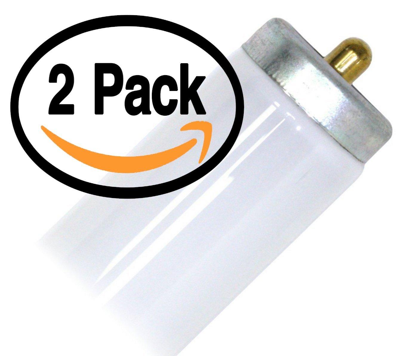 (2 Pack) Sylvania 29478 - F96T12/CWX - Single Pin 75 Watt Straight T12 Fluorescent Tube Light Bulb 75W 4100k Replaces F96T12 F96T12/CW/ECO F96T12/CW Supreme/Alto