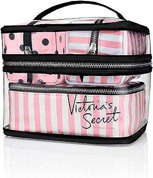 Victoria s Secret Tres Bolsas de cosméticos- 4 Piezas Estuche de Viaje: Amazon.es: Equipaje