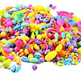 Looching 165pcs Kids Pop Beads Set Creative Jewelry Snap Kit DIY Necklace Bracelet Art Crafts Gift...