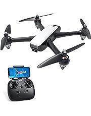 Potensic Drone GPS Brushless con Telecamera1080P 5G WiFi FPV RC Drone Professionale D60 Grandangolare Telecomando Videocamera Seguimi GPS Ritorno a Casa Mantenere Altitudine Lunga Distanza