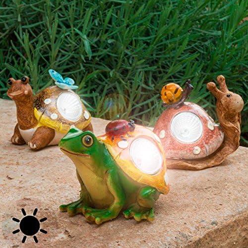 Compra Lampara solar - Animales de jardin en Amazon.es