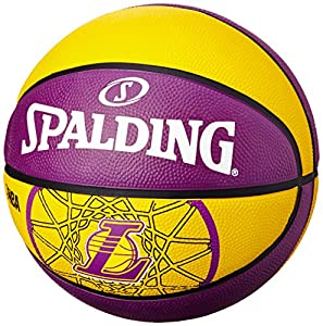 Spalding Basketball Team L.A. Lakers, Mehrfarbig, 5, 3001587010615