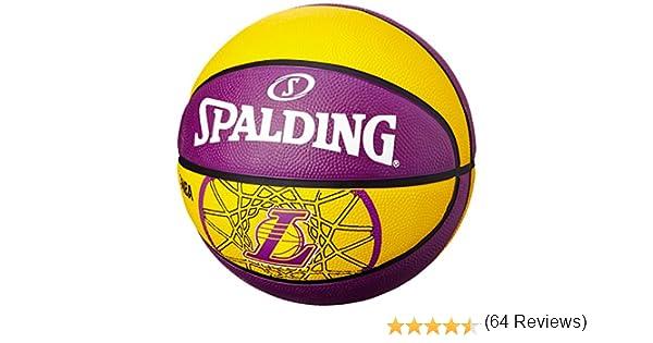 Spalding L.A.Lakers - Pelota de Baloncesto, Talla 7: Amazon.es ...
