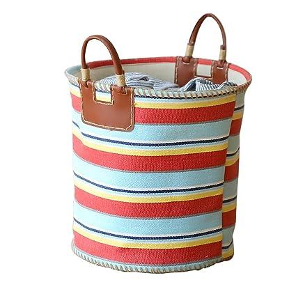 Best wishes shop canasta de almacenamiento- Gran cesta de almacenamiento de tela de la casa