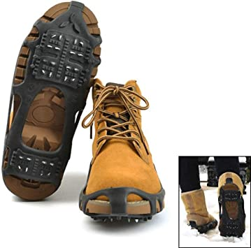 Spikes /& Snow Gripper Anti Slip Shoe Grips Prevent Slips /& Falls Ice Cleats