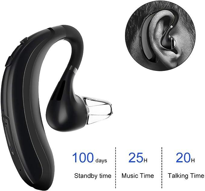 51 opinioni per atongm Auricolare Bluetooth Senza Fili, Cuffia Bluetooth Auricolare Wireless