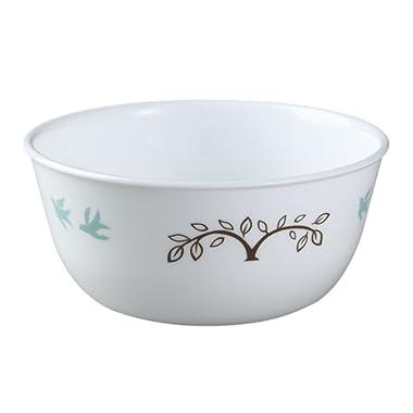Corelle Livingware Tree Bird 28 Ounce Soup - Cereal Bowl (Set of 4)