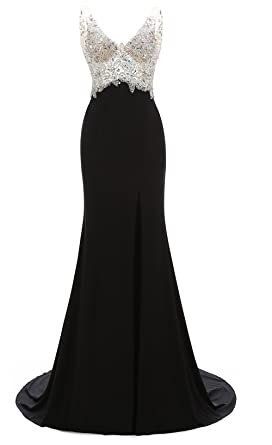 Black Mermaid Long Dresses