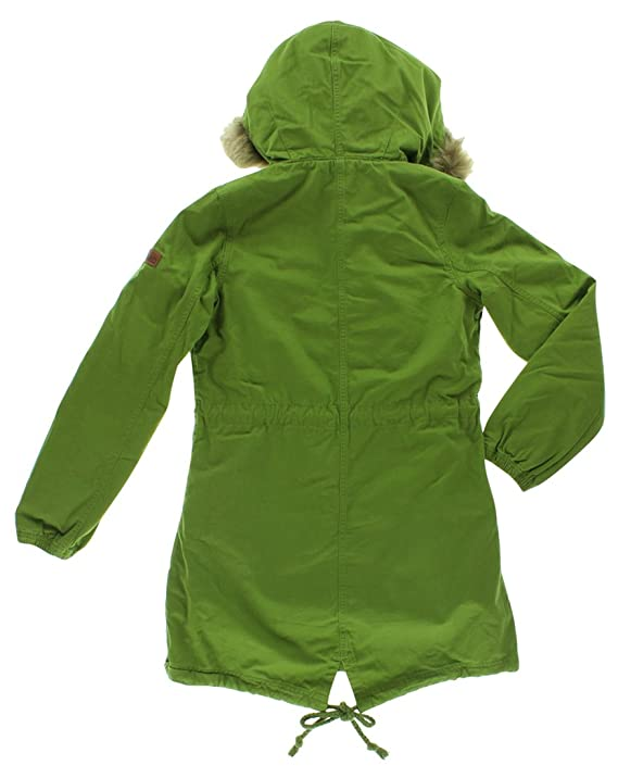 438f5d95916c9 Amazon.com: adidas Womens Sherpa Parka Jacket Forest Green S: Clothing