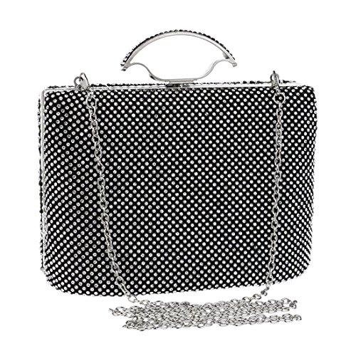 evening Bag Luxury And American Bag Evening Fly European Color Handbag Diamond bag Style Dress Banquet Silver Ladies Luxury Black Clutch Portable C5axz6wx