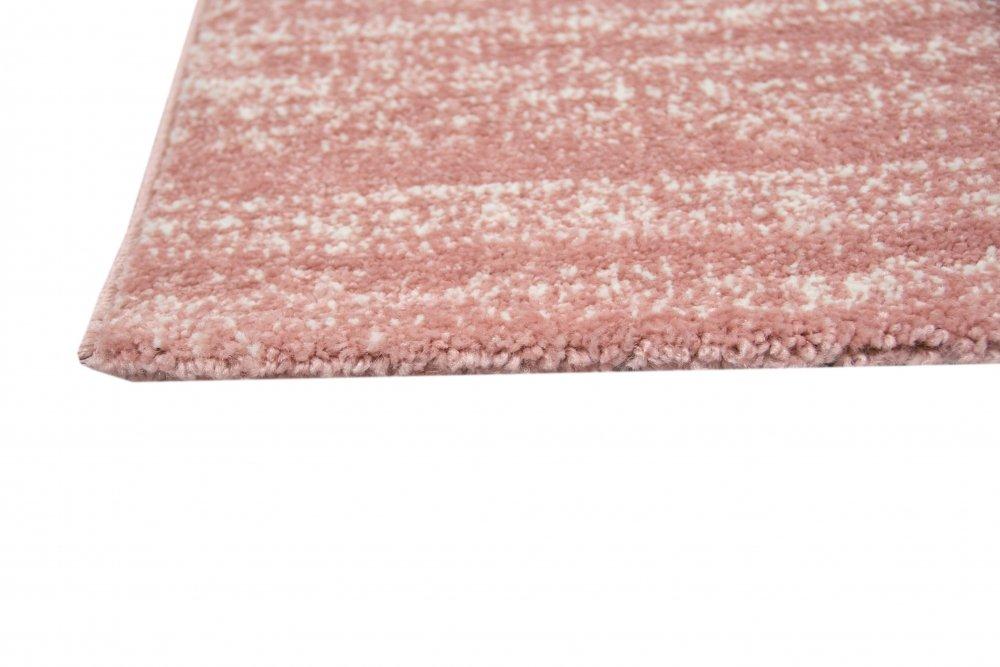 Carpetia Moderner Teppich Wohnzimmerteppich Kurzflor Uni Rosa Meliert Größe Größe Größe 160x230 cm 76becc